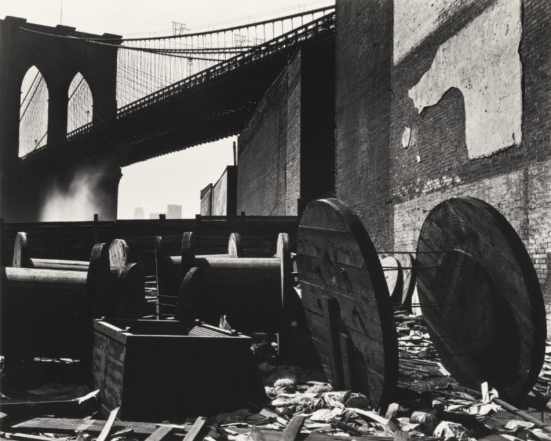 Brett Weston-Brooklyn Bridge-1944