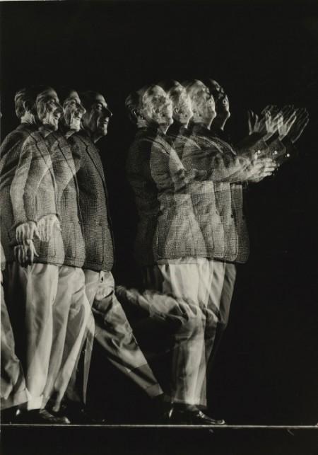 Gjon Mili-Edward Weston (Stroboscopic Portrait)-1946