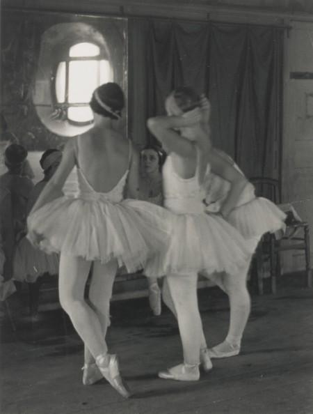 Alfred Eisenstaedt-Corps De Ballet Rehearses 'Swan Lake' At The Opera De Paris-1931