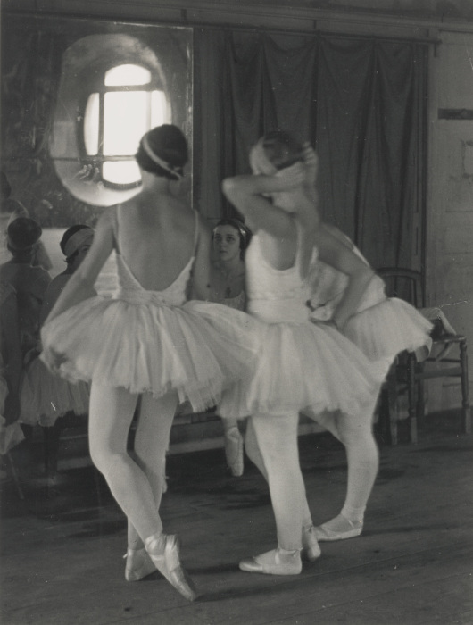 Alfred Eisenstaedt-Corps De Ballet Rehearses 'Swan Lake' At The Opera De Paris-1931