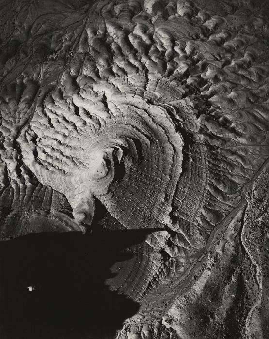 William Garnett-Butte - Marble Canyon, Arizona (Vertical View)-1955