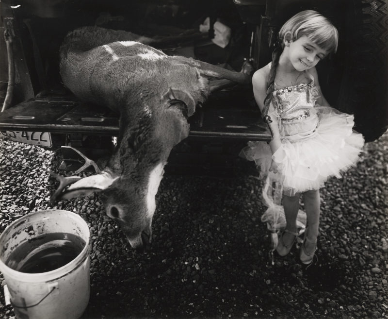 Sally Mann-Jessie And The Deer-1985