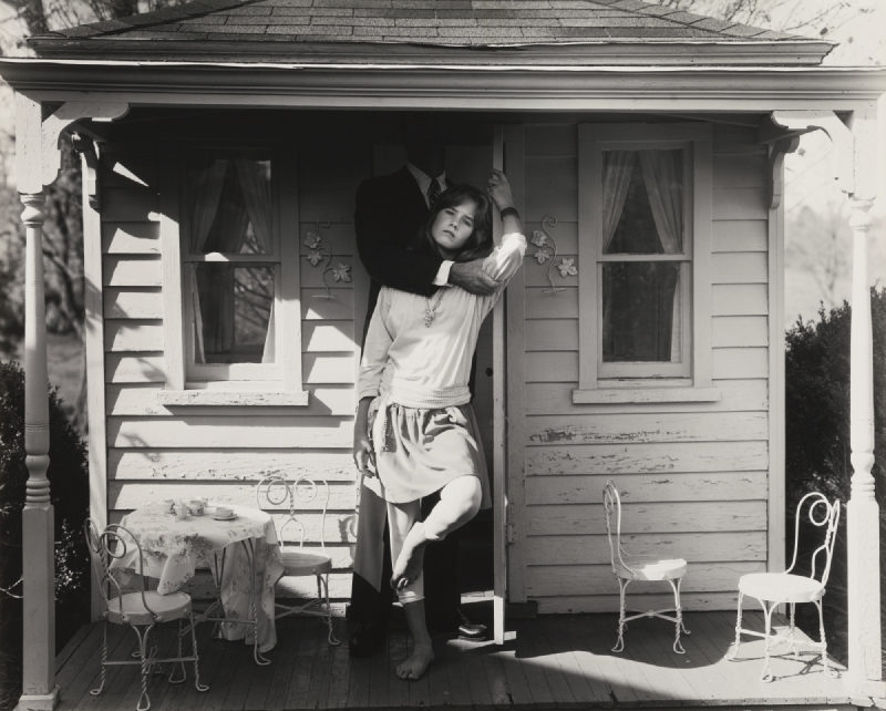 Sally Mann-Untitled (Julie And Her Father)-1984