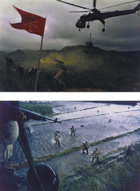 Larry Burrows-Selected Images Of South Vietnam (Dropping of Troops, Mekong Delta; Relief of Khe Sanh)-1968