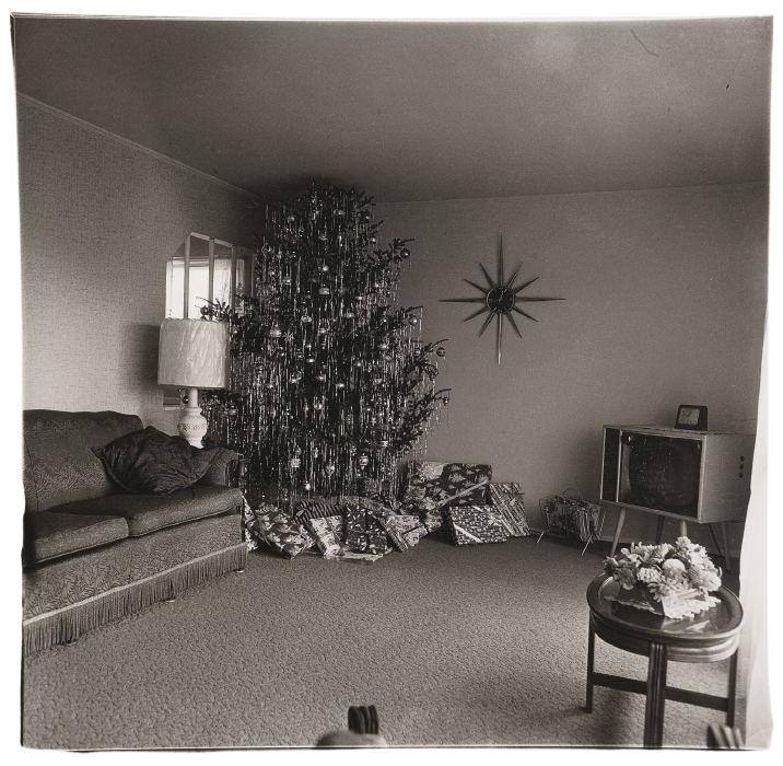 Diane Arbus-Xmas Tree In A Living Room In Levittown Li-1963