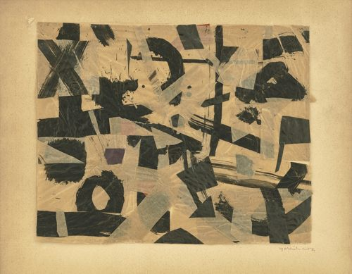 Jiro Yoshihara-Work (Double-Sided)-1952