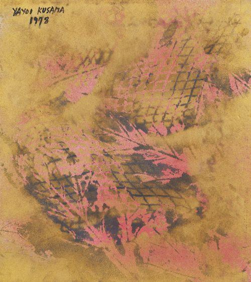 Yayoi Kusama-The Footprints Of Youth-1978
