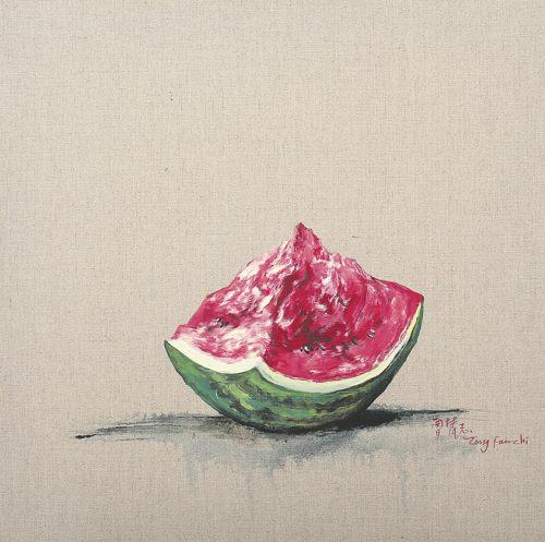 Zeng Fanzhi-Watermelon-2006