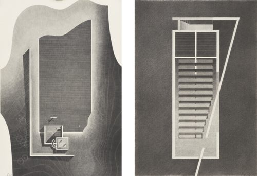 Tadao Ando-(I) Church Of Light (II) Church Of Water (Set Of Two)-2014