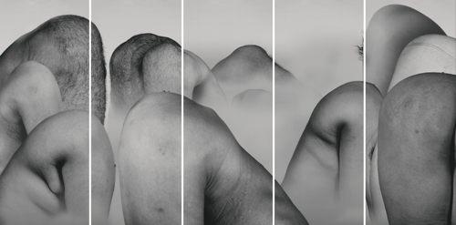 Liu Wei-Landscape (Set Of Five)-2004
