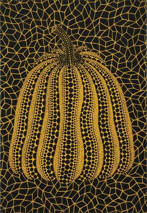 Yayoi Kusama-Pumpkin-1993