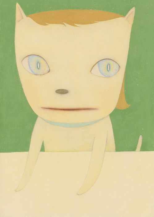 Yoshitomo Nara-Big Eyed Cat-2003