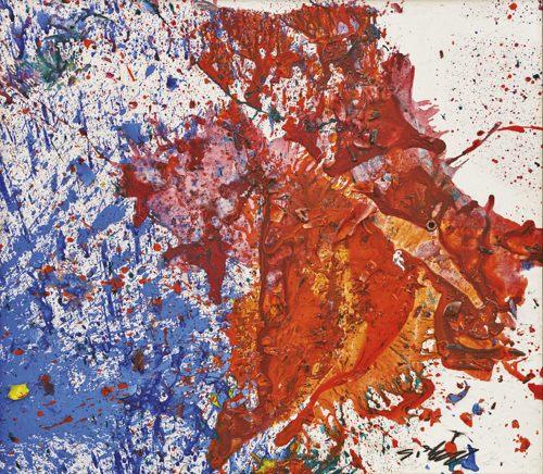 Shozo Shimamoto-Untitled-2007