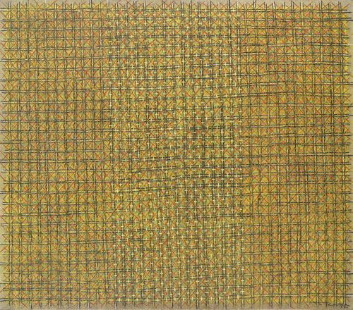 Ding Yi-Appearance Of Crosses 95-6-1995