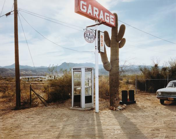 Stephen Shore-U.S. 93, Wikieup, Arizona, December 14-1976