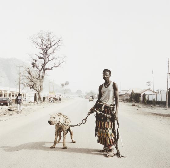 Pieter Hugo-Mallam Galadima Ahmadu With Jamis, Nigeria From The Hyena Men-2005