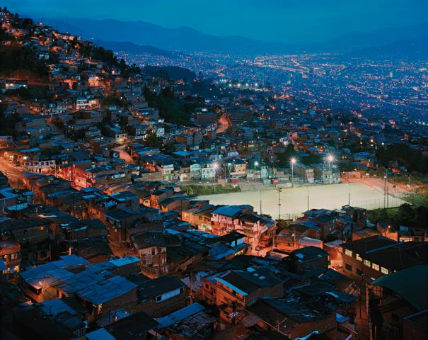 Simon Norfolk-The Granizal District Of Medellin, Columbia-2003