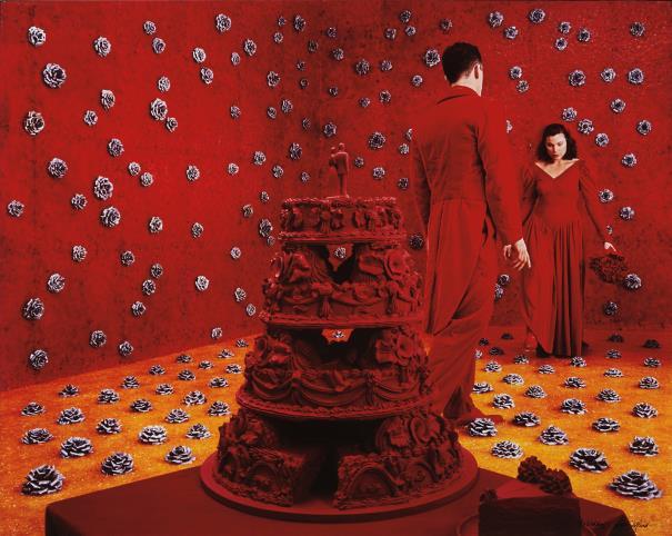 Sandy Skoglund-The Wedding-1994