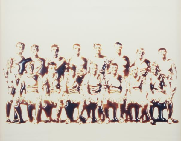 Vik Muniz-Team From Pictures Of Chocolate-1998