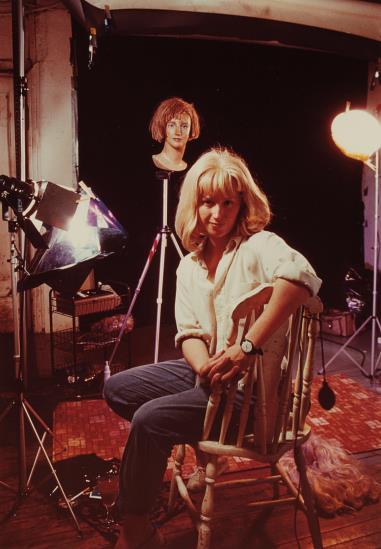 Cindy Sherman-Untitled (Artist In Her Studio)-1983