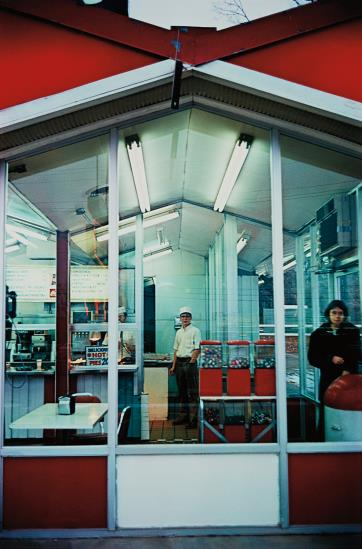 William Eggleston-Untitled (Cafe Exterior)-1974