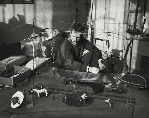 Andre Kertesz-Alexander Calder, Paris-1929