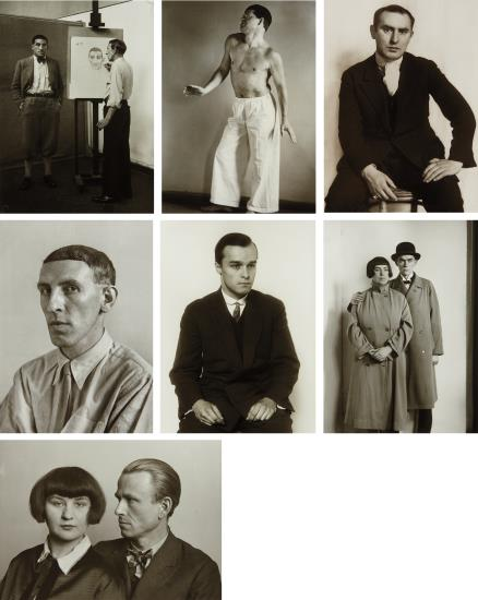August Sander-Portraits Of Artists-1974