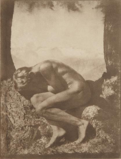 Rudolf Koppitz-Im Schosse Der Natur (In The Bosom Of Nature)-1923