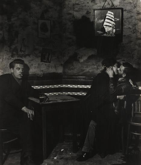 Bill Brandt-At Charlie Brown's, Limehouse-1945