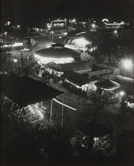 Brassai-Place D'Italie-1931