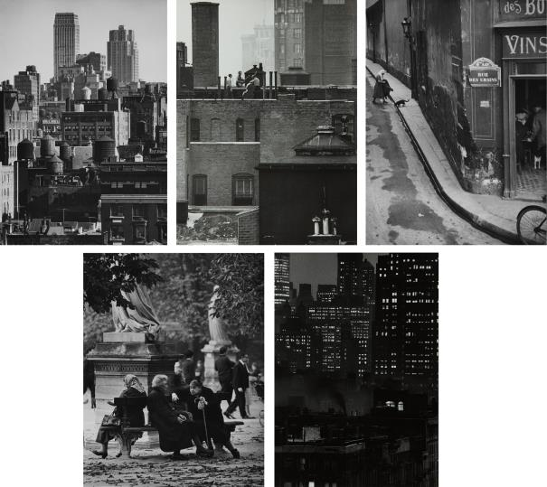 Andre Kertesz-Selected Images Of New York And Paris-1964