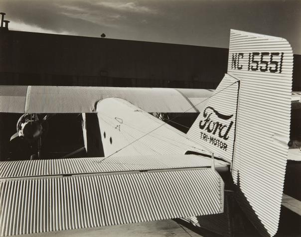 Brett Weston-Ford Trimotor-1935