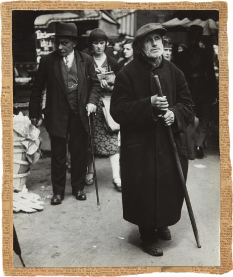 Lisette Model-Beggar, Paris-1937