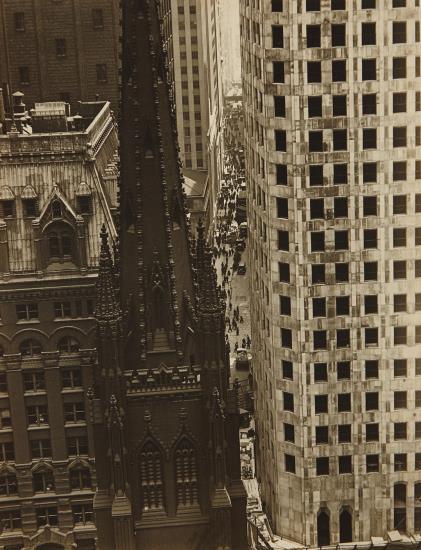 Sherril Schell-Wall Street, New York-1930