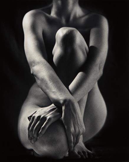 Ruth Bernhard-Classic Torso With Hands-1952