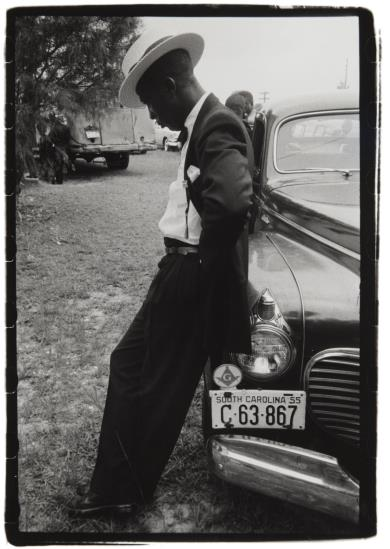 Robert Frank-From The Funeral, Frogmore, South Carolina-1955