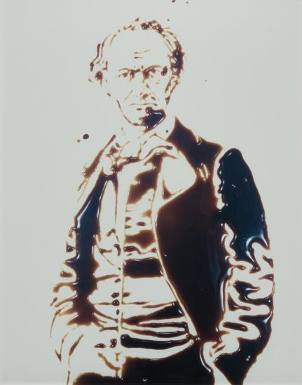 Vik Muniz-Charles Baudelaire From Pictures Of Chocolate-1998