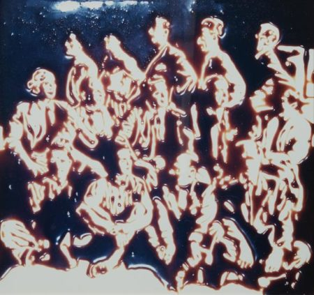 Vik Muniz-Immigrant From Pictures Of Chocolate-1999