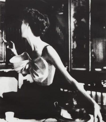 Lillian Bassman-Across The Restaurant, Barbara Mullen, Dress By Jacques Fath, Le Grand Vefour, Paris-1949