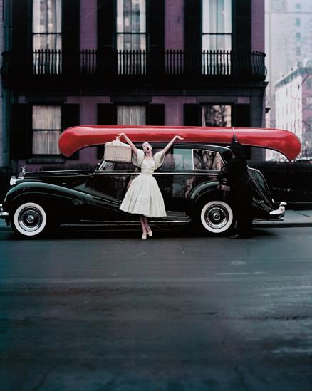William Helburn-Red Canoe-1957