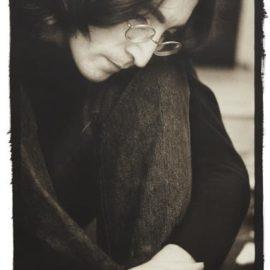 Ethan Russell-John Lennon Listening To The 'White Album,' London-1968