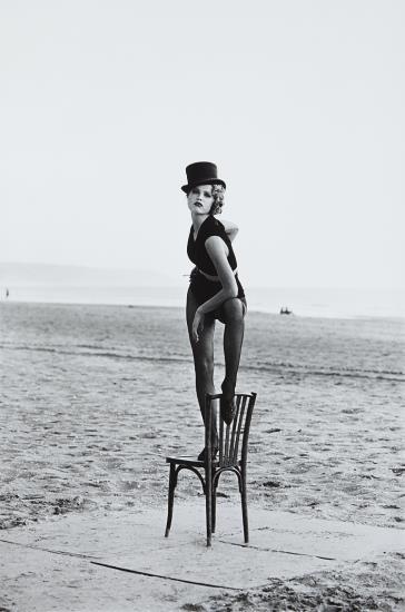 Peter Lindbergh-Eva Herzigova, Deauville-1990