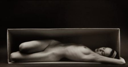 Ruth Bernhard-In The Box - Horizontal-1962