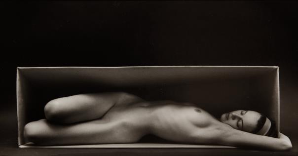 Ruth Bernhard-In The Box - Horizontal-1962