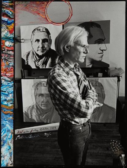 Peter Beard-Aw @ The Factory, October-1979