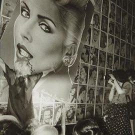 Jill Freedman-Blondie Warhol, Studio 54-1979