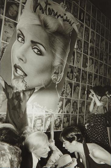 Jill Freedman-Blondie Warhol, Studio 54-1979