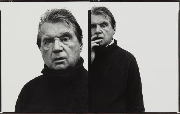 Richard Avedon-Francis Bacon, Artist, Paris, April 11-1979