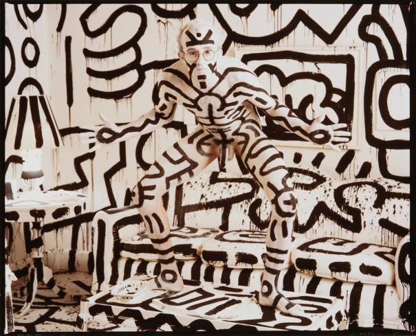 Annie Leibovitz-Keith Haring, New York-1986