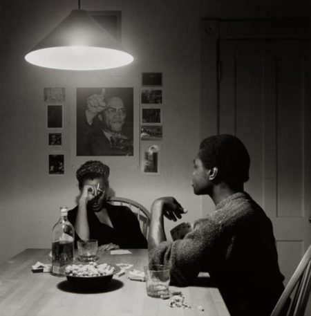Carrie Mae Weems-Untitled, (Playing Cards Malcolm X)-1990